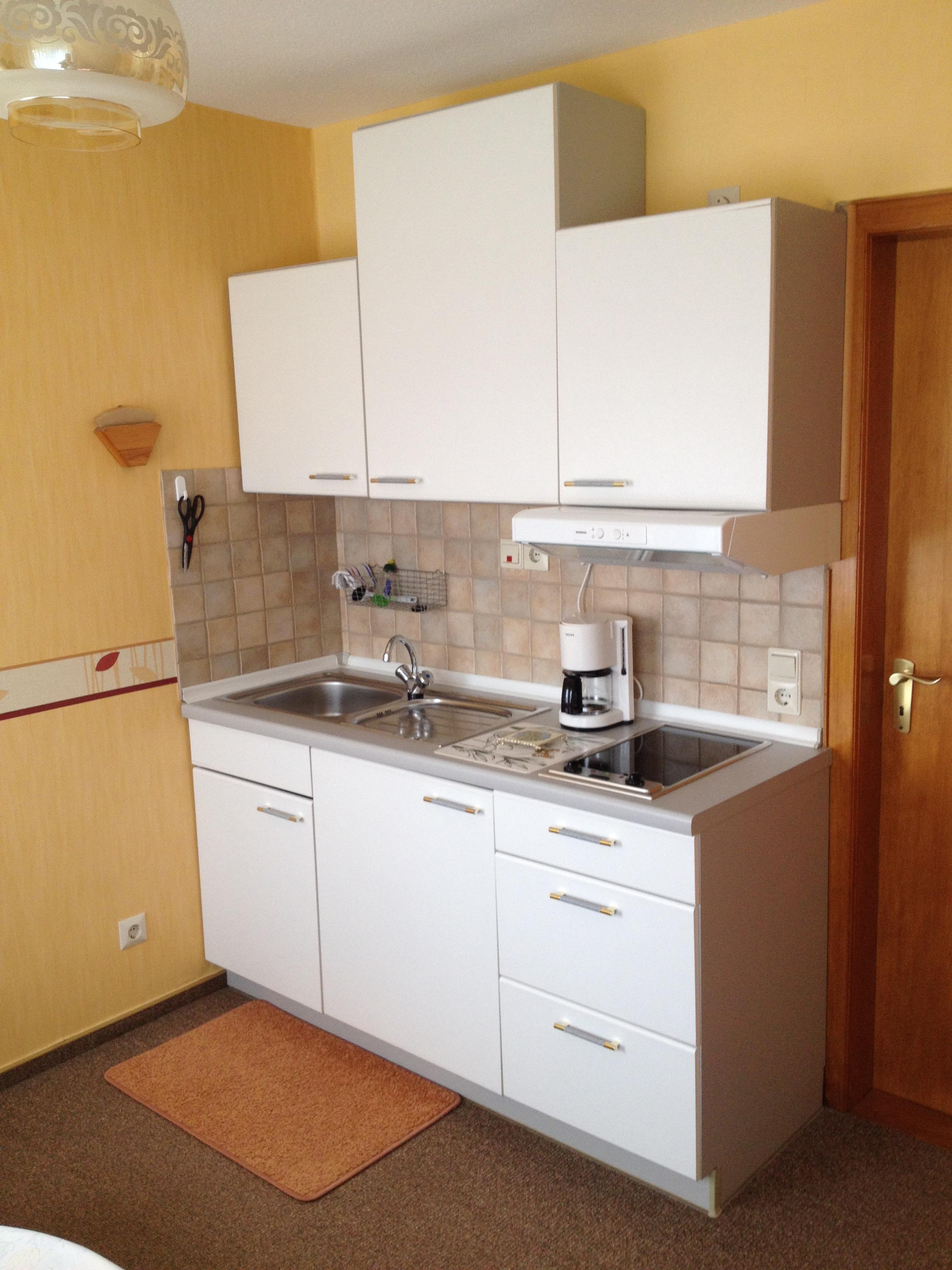 Einzel-Zimmer: Küchenzeile