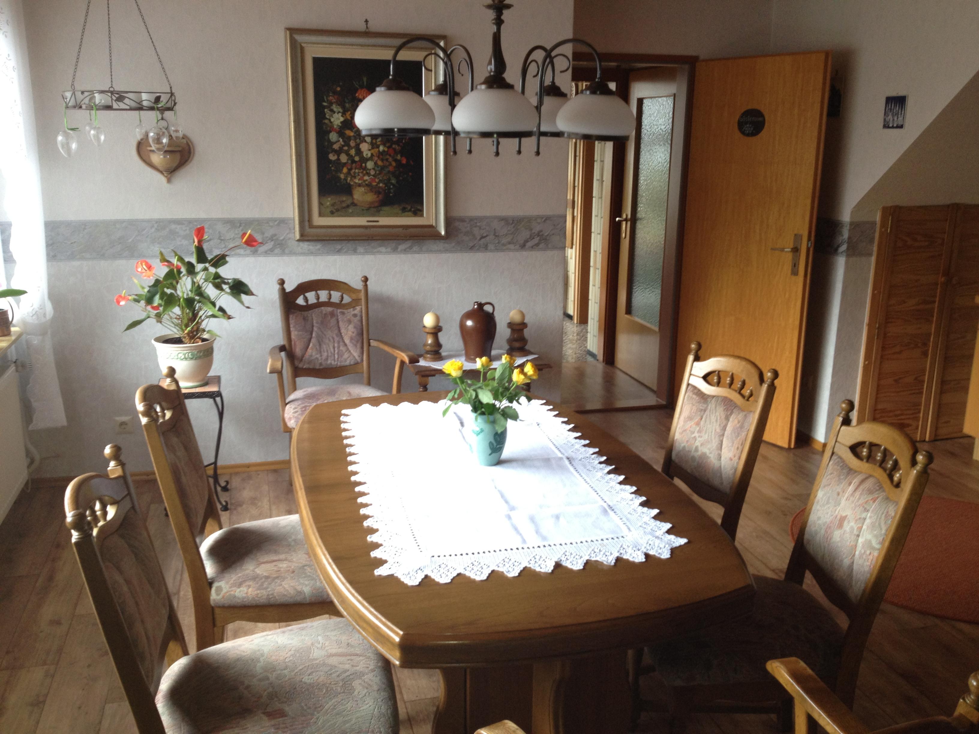 Fühstücksraum, für ca. 12 Personen